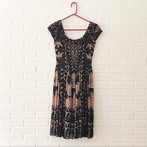 Vivienne Tam Mesh Overlay Dress Size 0